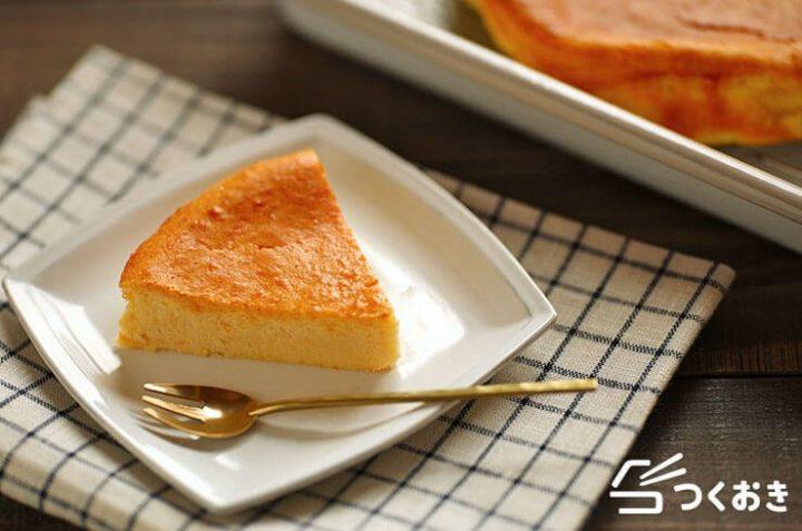 ホワイトチョコの簡単チーズケーキ