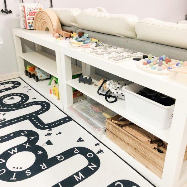 おもちゃ収納スペースとして活用