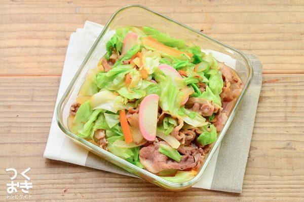 美味しいおかず!豚肉と野菜の中華炒め