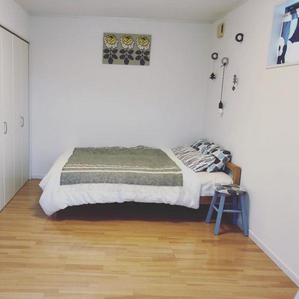 8畳寝室快眠ベッドレイアウト3