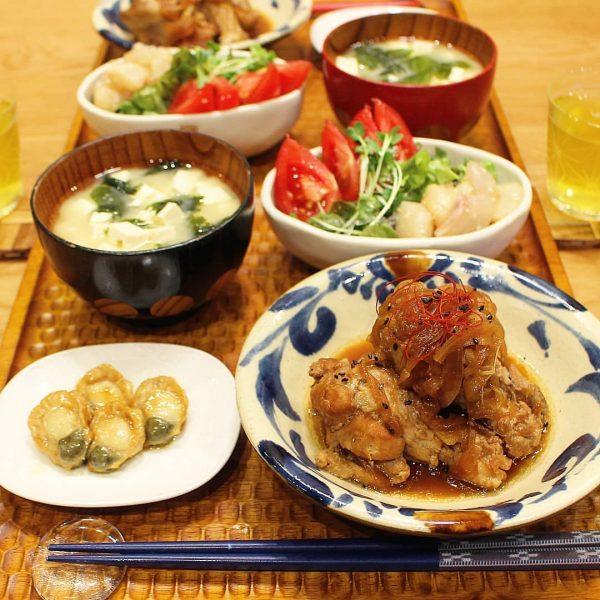 鶏肉の煮込み料理レシピ☆酢じょうゆ玉ねぎ煮