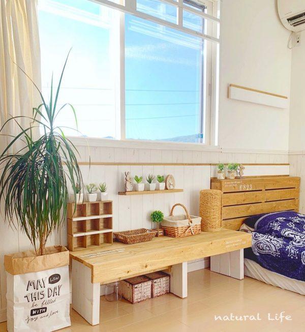 寝室 おしゃれ DIYアイデア