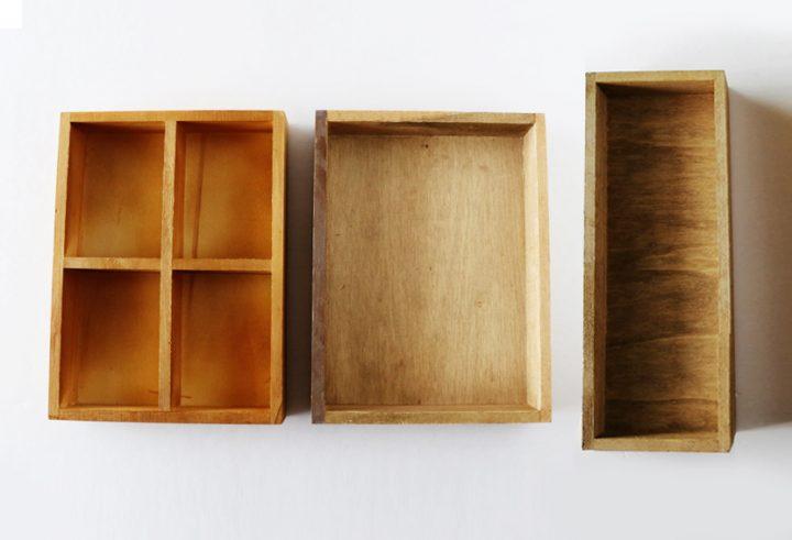 セリア木製トレイシリーズ