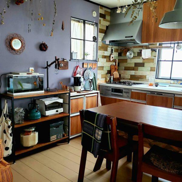 7畳向けダイニングキッチンレイアウト 収納家具4