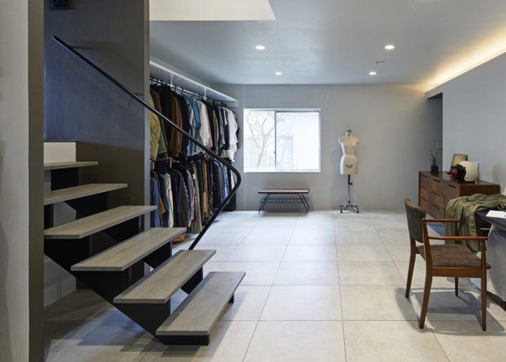 クローゼットを中心に服とのよい関係を築く空間5