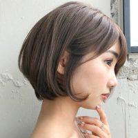 暗め×アッシュブラウンのヘアカラー特集♡透明感溢れる髪色で柔らかい印象に♪