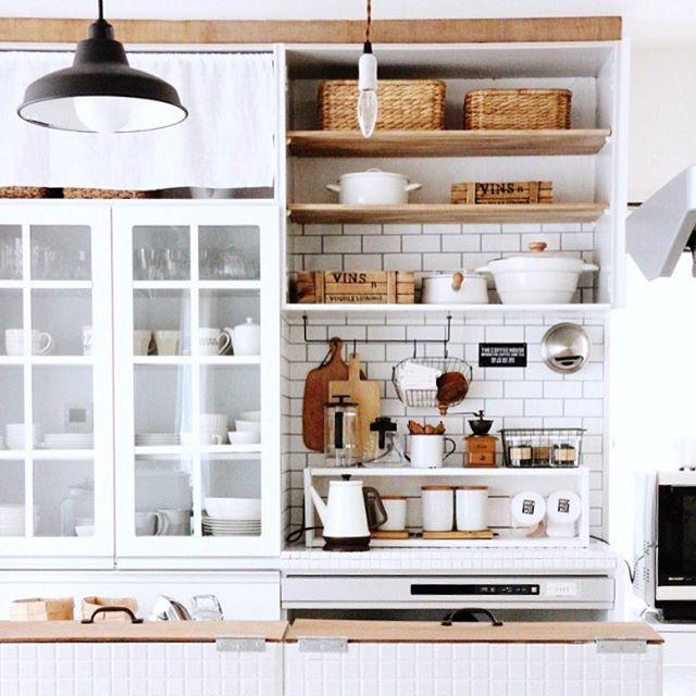 キッチンのおしゃれインテリア実例
