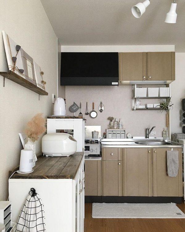 7畳向けダイニングキッチンレイアウト 収納家具2