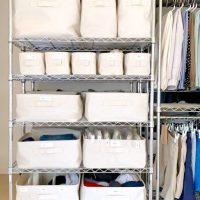メタルラックを使った洋服の収納術!スッキリ&便利な片付けアイデア特集