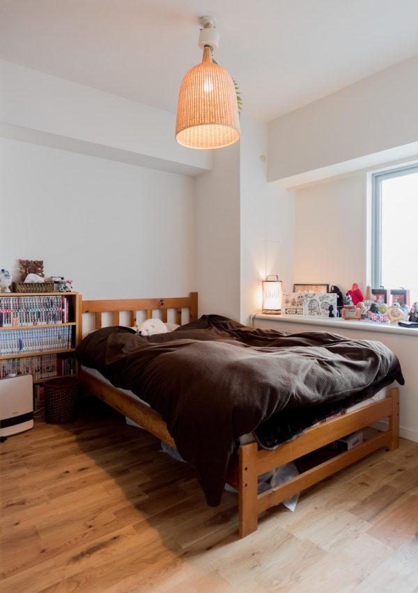 二人暮らしのベッドスペース8