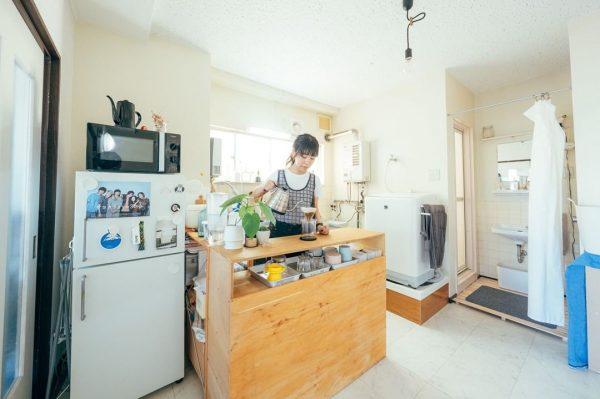 7畳向けダイニングキッチンレイアウト 収納家具3