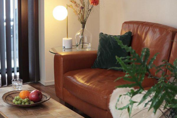 アメリカンヴィンテージソファがある部屋