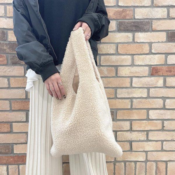 (5)ボアショッパーバッグ