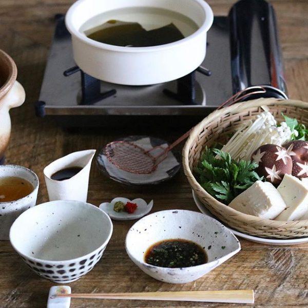 冬の定番料理!温かい湯豆腐♪