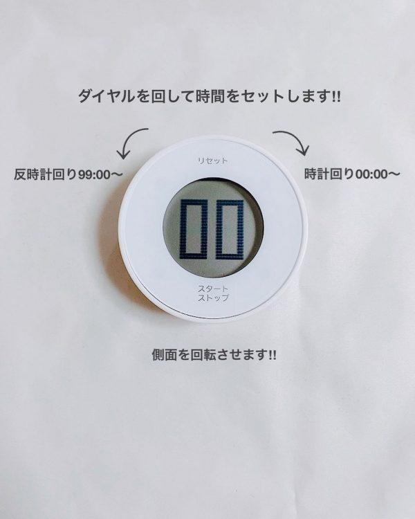 (4)デジタルタイマーダイヤル式