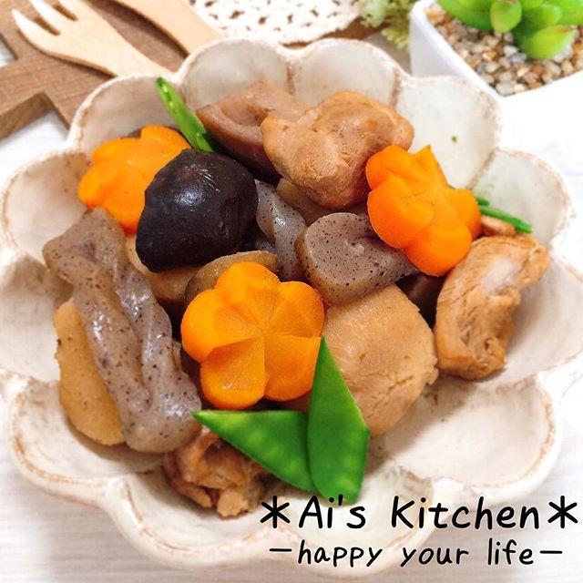 朝ごはんの栄養がそろう理想の和食「炒り鶏」