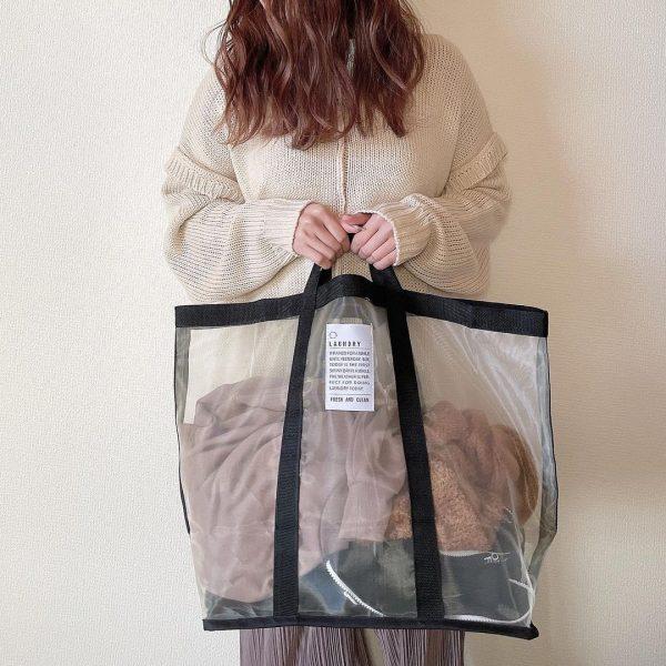 (2)ランドリーメッシュバッグ