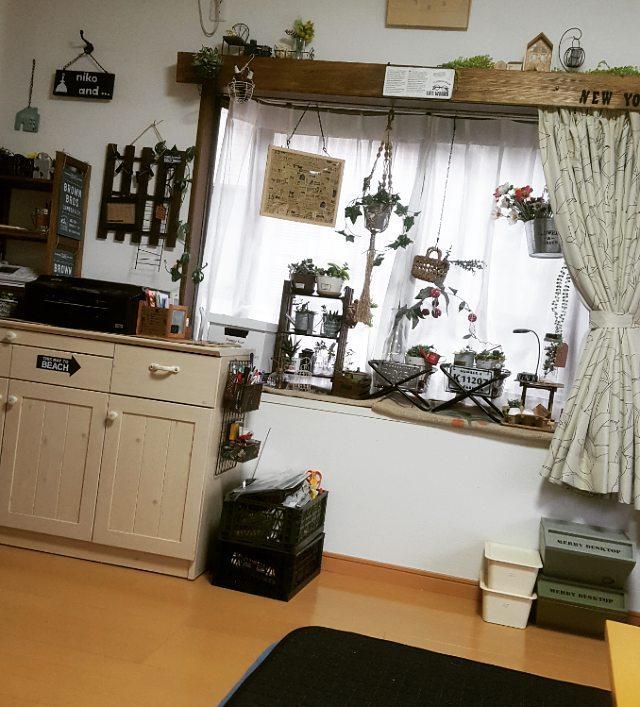 カフェカーテンの作り方10
