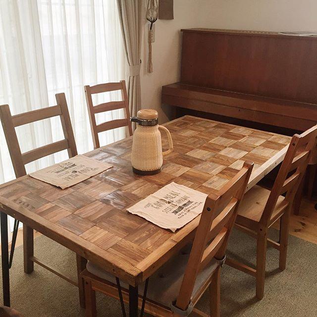 テーブル リメイク DIY13
