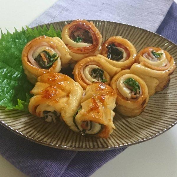 簡単おつまみレシピ☆ちくわのガリバタ風味