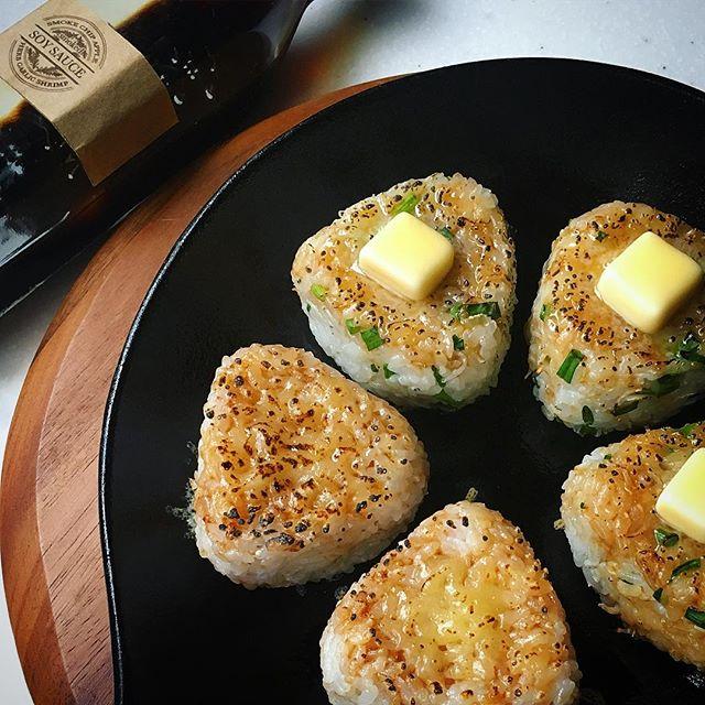 バター醤油香る!焼きおにぎりレシピ