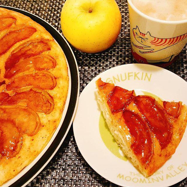 簡単でおすすめ!美味しいりんごケーキ