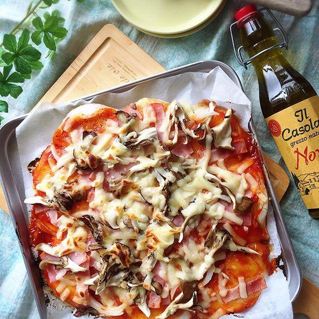 簡単なアレンジレシピ!洋風の餅ピザ