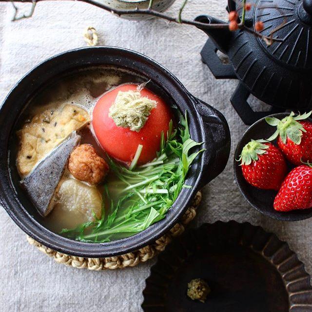 トマトを加えてリメイク!美味しい鍋レシピ