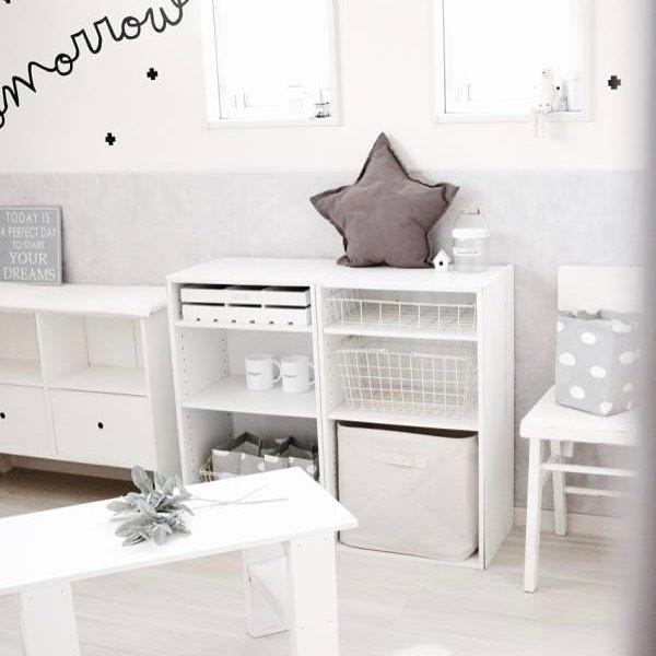 赤ちゃん服のカラーボックス収納6