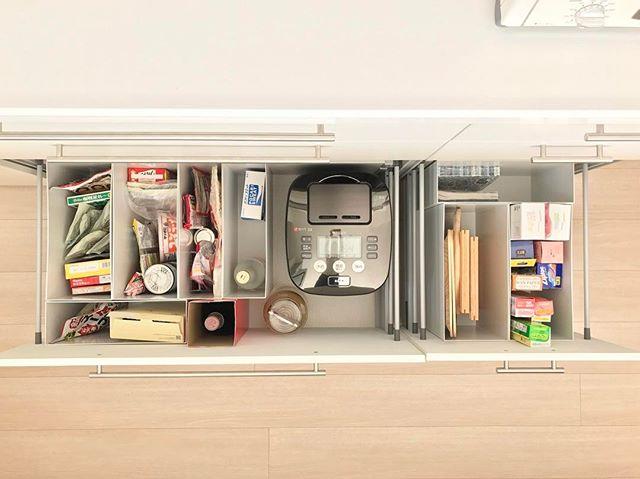 炊飯器の置き場11