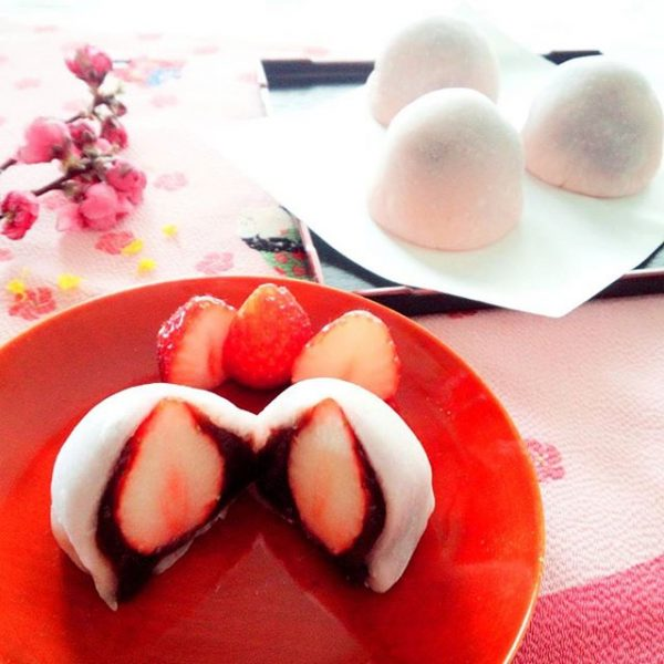 大人気の和菓子!イチゴ大福