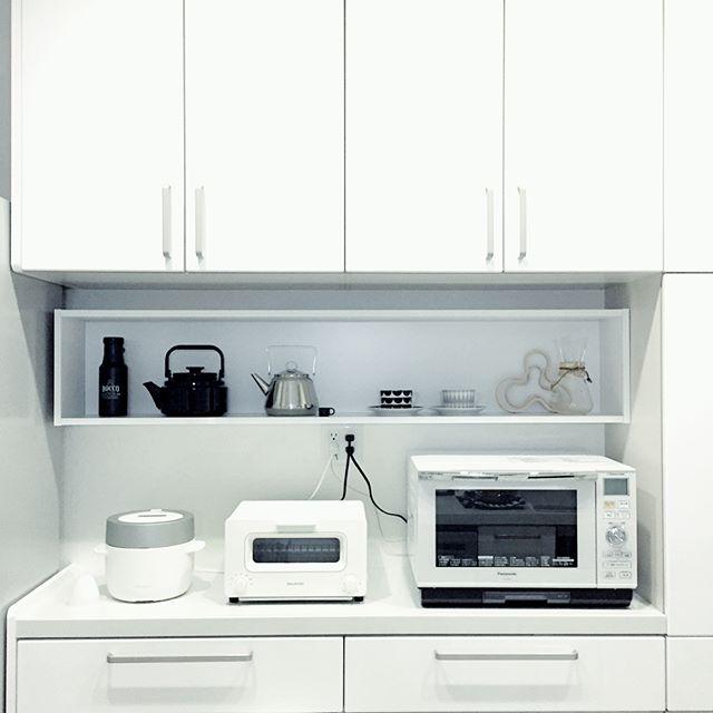炊飯器の置き場2