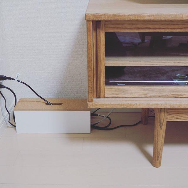 配線のすっきり収納アイデア6