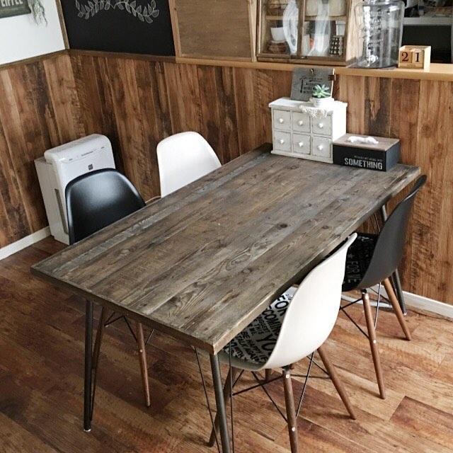 テーブル リメイク DIY14