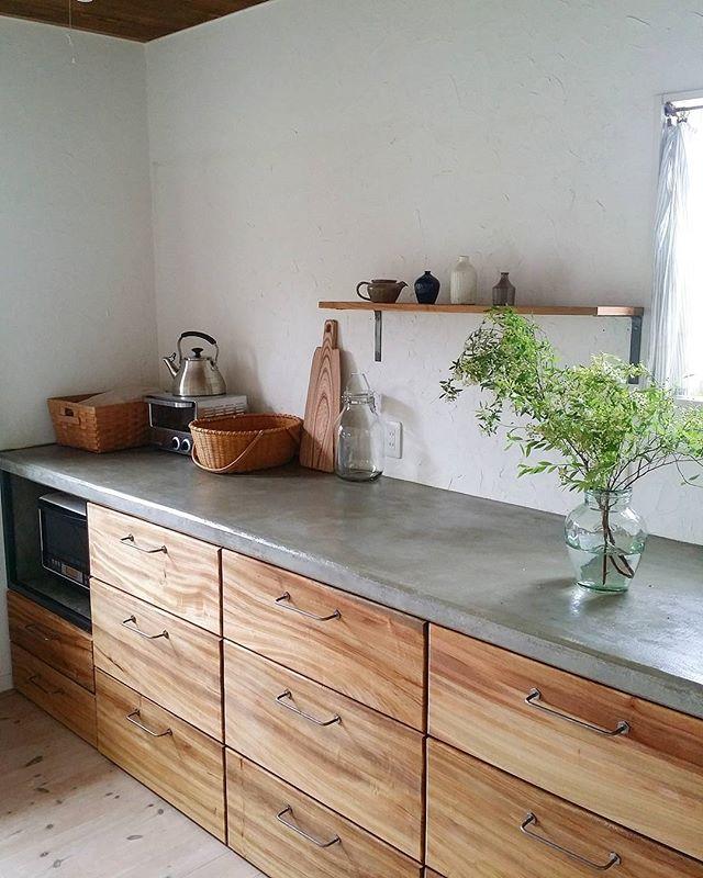 キッチンのおしゃれインテリア実例2