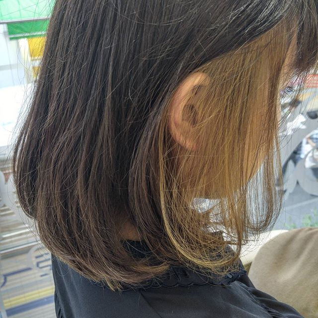 明るめヘアカラー6