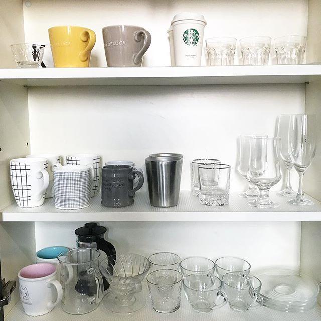 ワイングラスのおしゃれな収納アイデア4