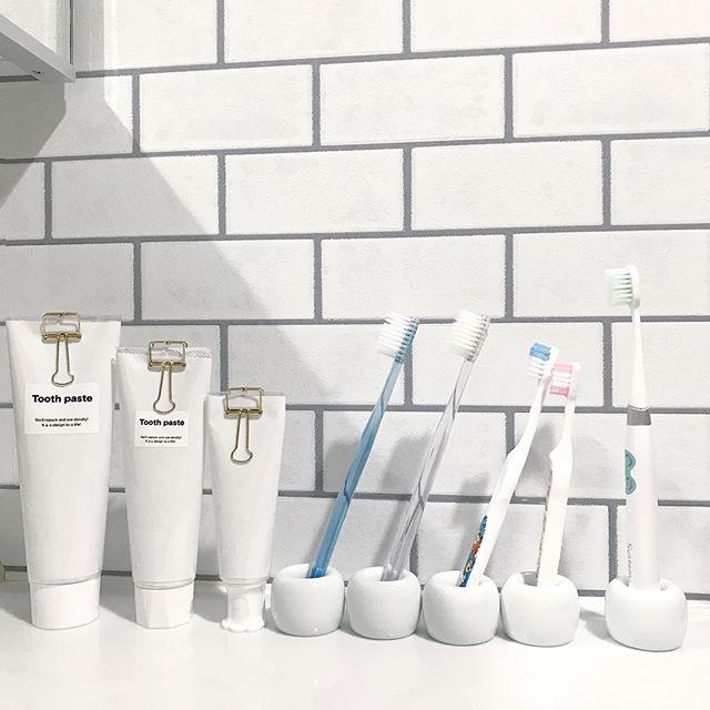 電動歯ブラシ 収納アイデア3