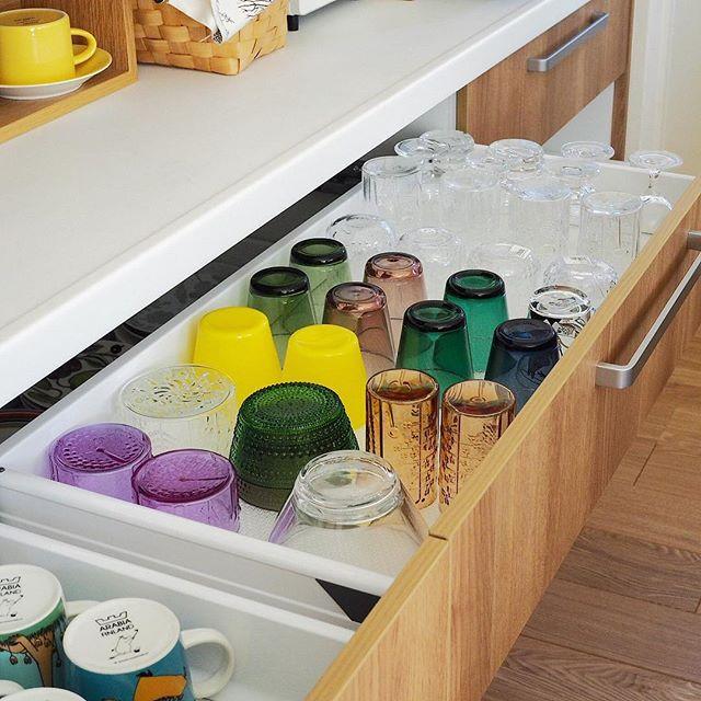 ワイングラスのおしゃれな収納アイデア8