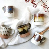 深みのあるこっくりとした風合い♪伝統ある美濃焼の「マグカップ」