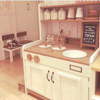 子供が喜ぶ手作りのおままごとキッチン!DIYでおしゃれに作ってあげよう♪