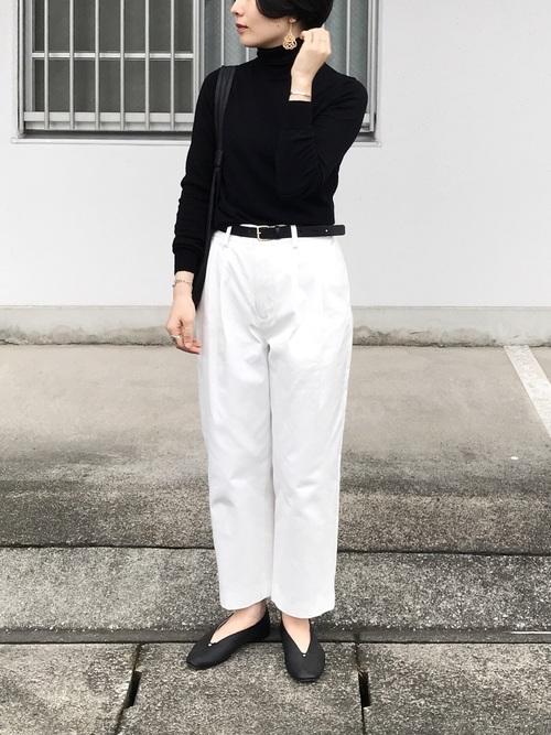 黒髪ショートに似合うファッション