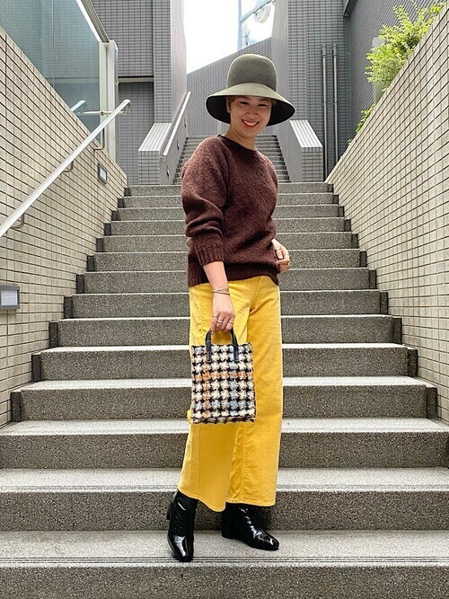 [SHIPS for women] 【SHIPS別注】upper hights:CORD NOURA◇
