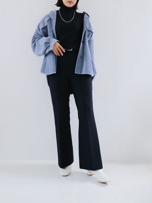 ZARAコーデュロイシャツジャケット