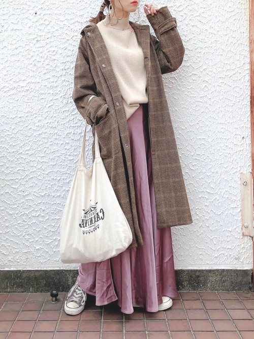 ZARAピンクスカート