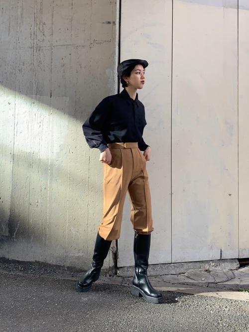 [SLY] CHUNKY SOLE KNEE ブーツ/チャンキーソールニーブーツ