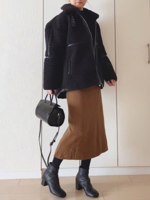 ユニクロのタイトスカート2