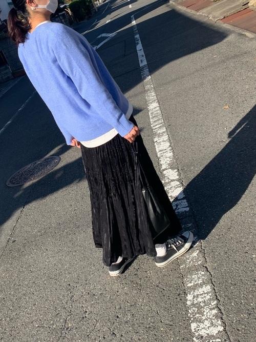 ユニクロツイストプリーツロングスカート