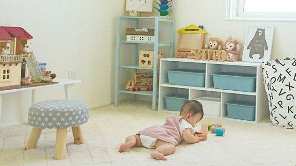 おすすめ♪寝転んで遊べる6畳の子供部屋
