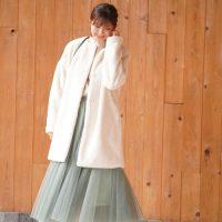 白のファーコートの冬コーデ16選!膨張色でも着太りしない着こなし方って?